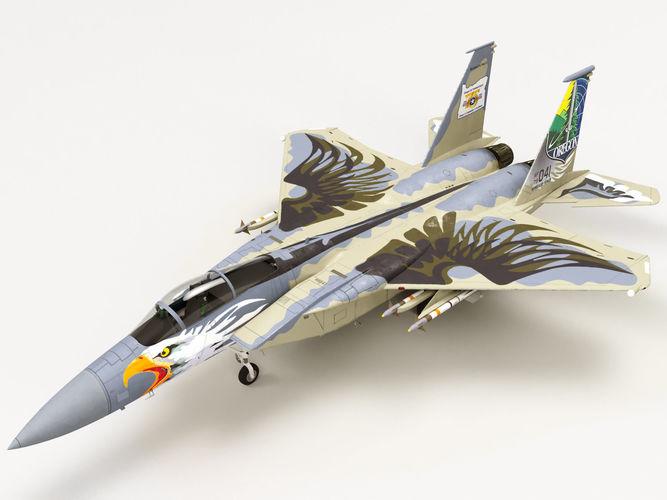 McDonnell Douglas F-15C Eagle Oregon Ang 75th Anniversary