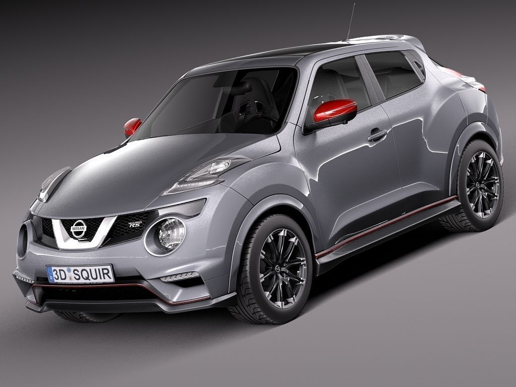 nissan juke nismo rs 2015 3d model max obj 3ds fbx c4d lwo lw lws. Black Bedroom Furniture Sets. Home Design Ideas