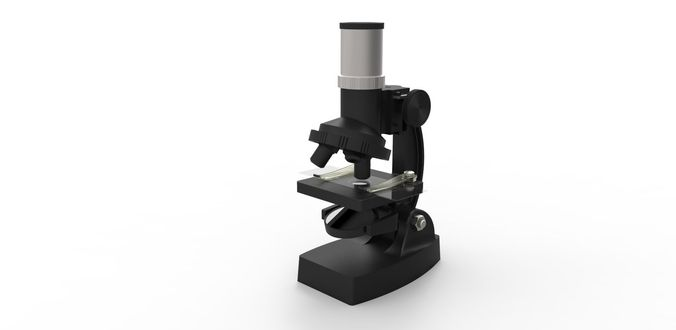 microscope mikroszkp 3d model  1