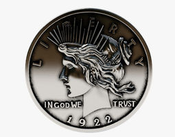 Harveys Dent Coin CNC the 3D printable model