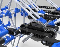 Theo Jansen Mechanism  Theo Jansen Mozg malkotsa  3D Model