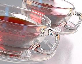 3D Realistic Glass Tea