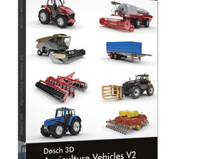 DOSCH 3D Agriculture Vehicles V2