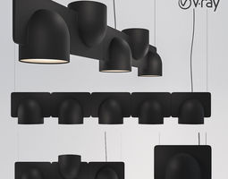 3D FontanaArte Igloo Suspension Lamp