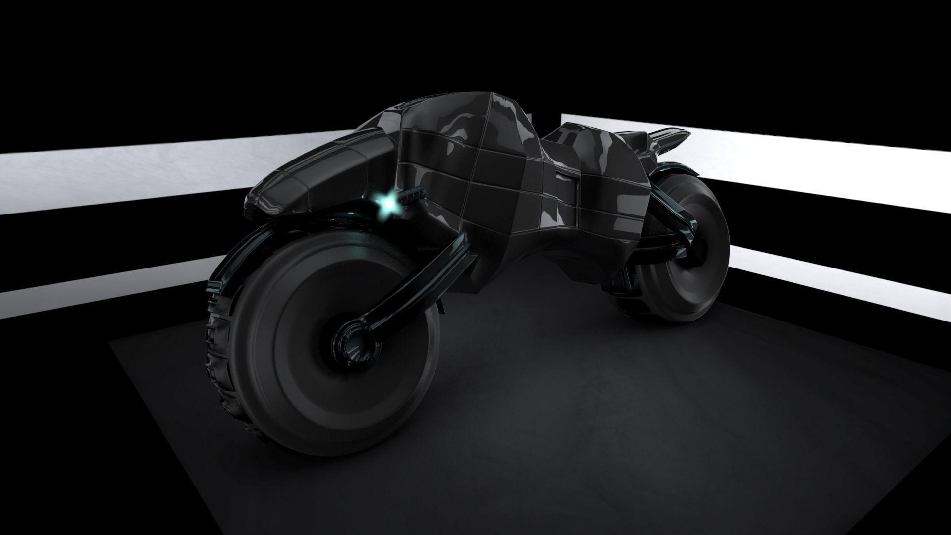 Panther X Scifi 3D Concept Bike