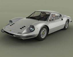 3D model Dino Ferrari 246 GT