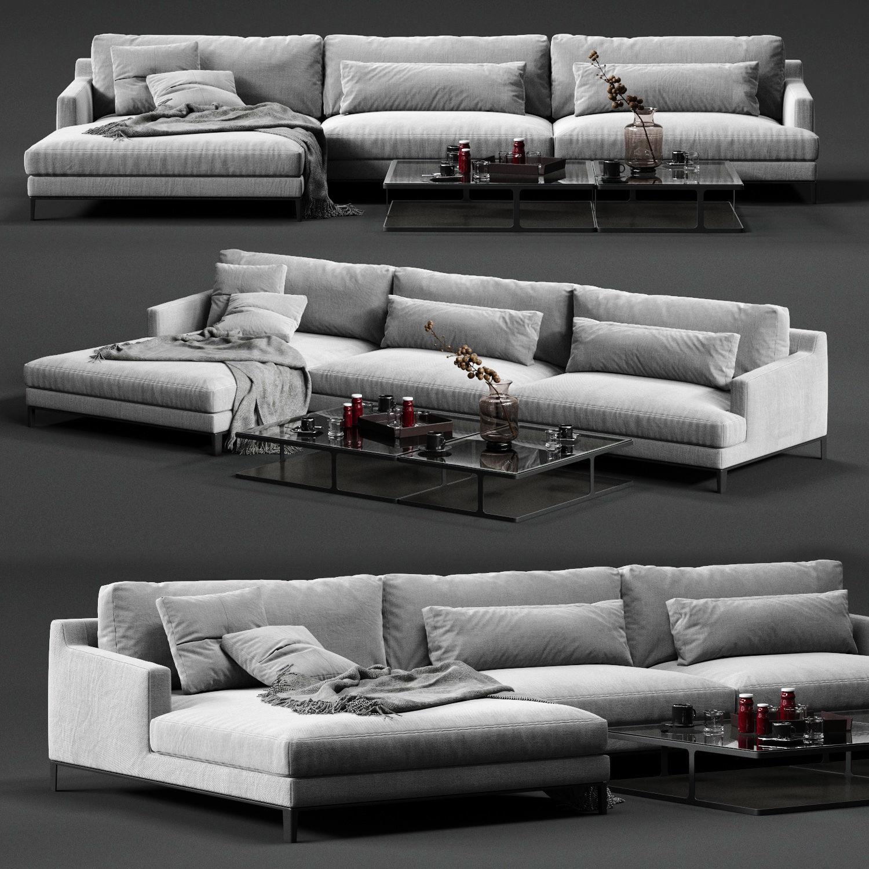 POLIFORM BELLPORT Corner Sofa