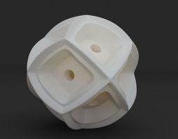 Math Object 0058 - Futuristic Sphere 3D print model