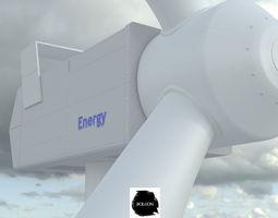 3D model Wind Rouse - Energy - Turbine