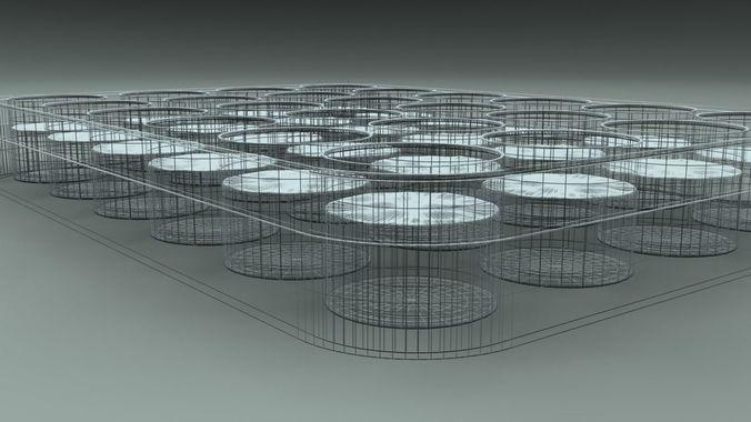 24 wells plate 3d model max obj mtl 3ds fbx 1