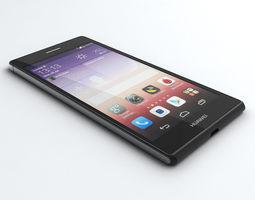 Huawei Ascend P7 3D Model