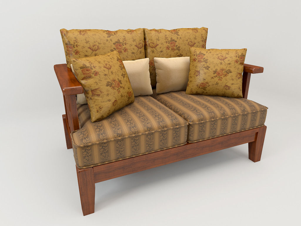 Sofa country style free 3d model max for C furniture new lynn