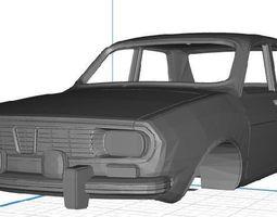 Renault 12 Body Car 3D print model