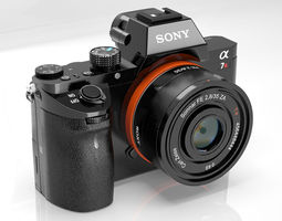 Sony A7RII 3D model