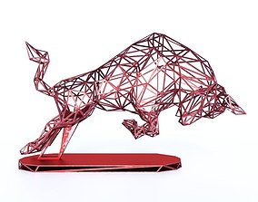 3D printable model Red Bull Wireframe v1