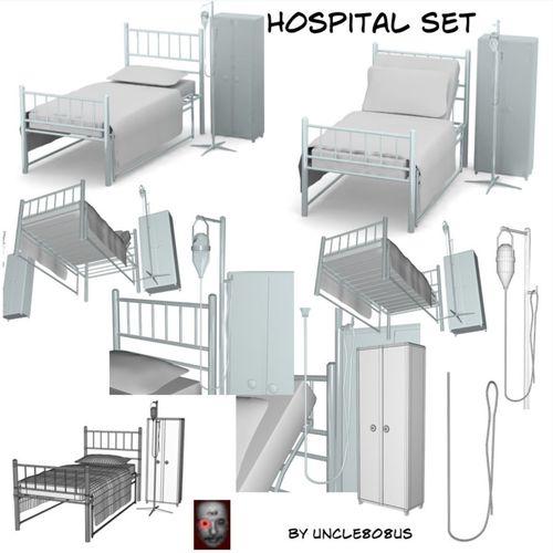Hospital Set3D model