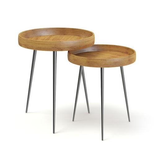 two small tables 3d model max obj fbx c4d mtl 1