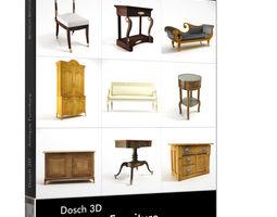 armchair Dosch 3D - Antique Furniture