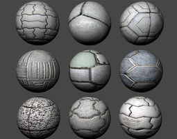 Floor Tiles Texture Pack 2 3D