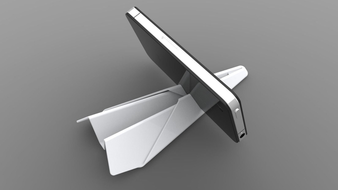 Paper Plane Phone and Tablet Stand3D model