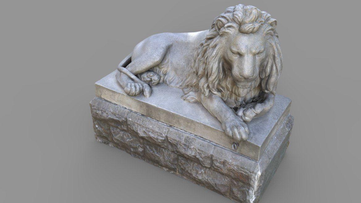 Sutro Heights Lion