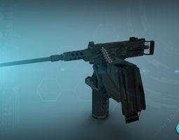 M2 Gun 3D Model