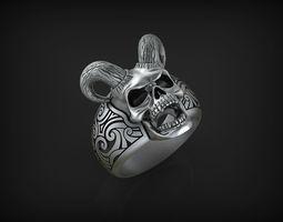 Ring Sea Devil STL 3D print model
