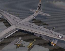 Convair B-36H Peacemaker 3D model