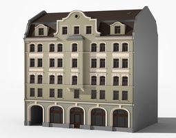 3D model European residence 04
