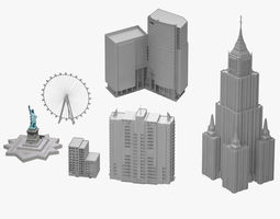 Building Collection 6 Product 3D model