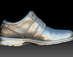 Clarks Dress Shoe 3D model
