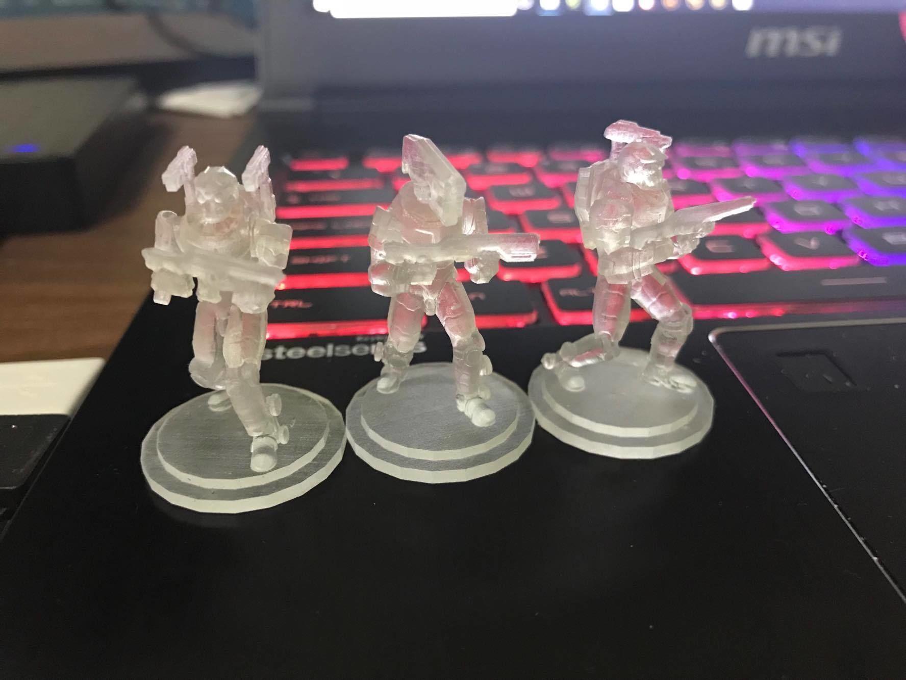 28mm Sci-Fi PMC Squad