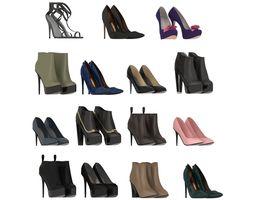 Women Designer Shoes 3D
