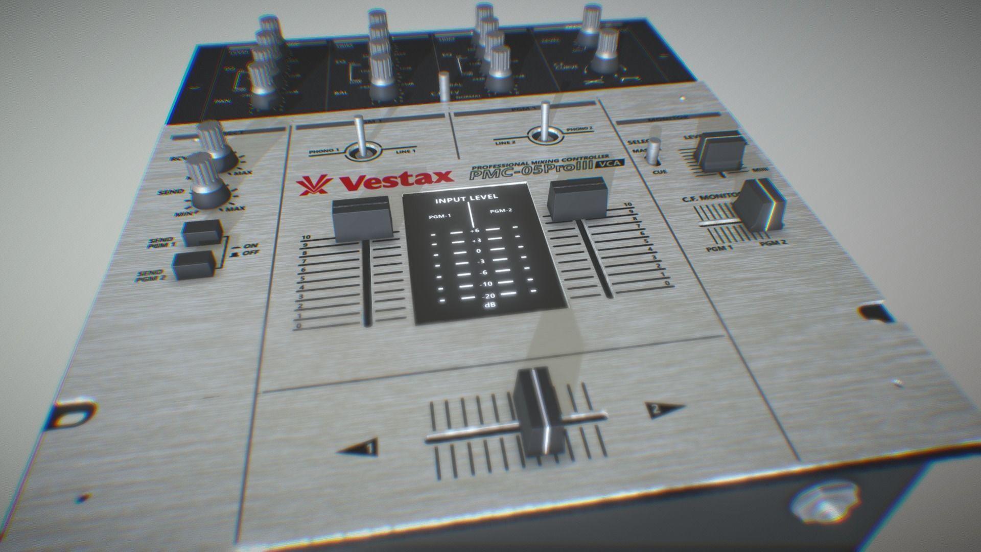 Vestax DJ Mixer