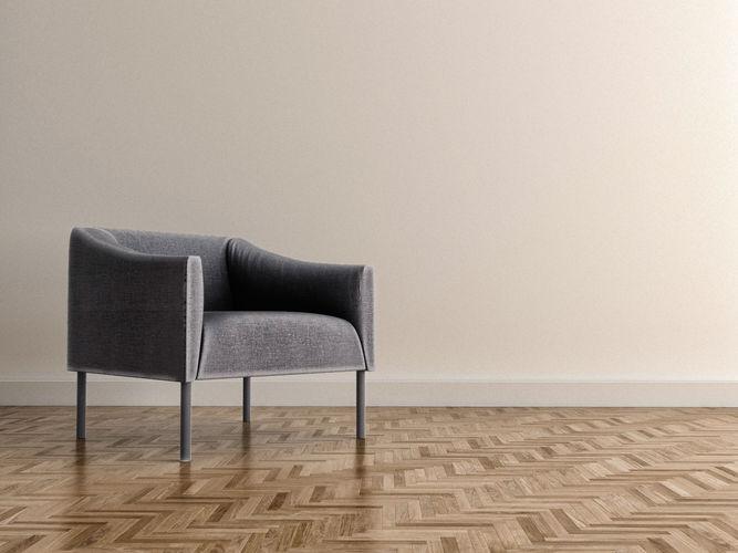 jasper morrison armchair  3d model max obj mtl fbx 1