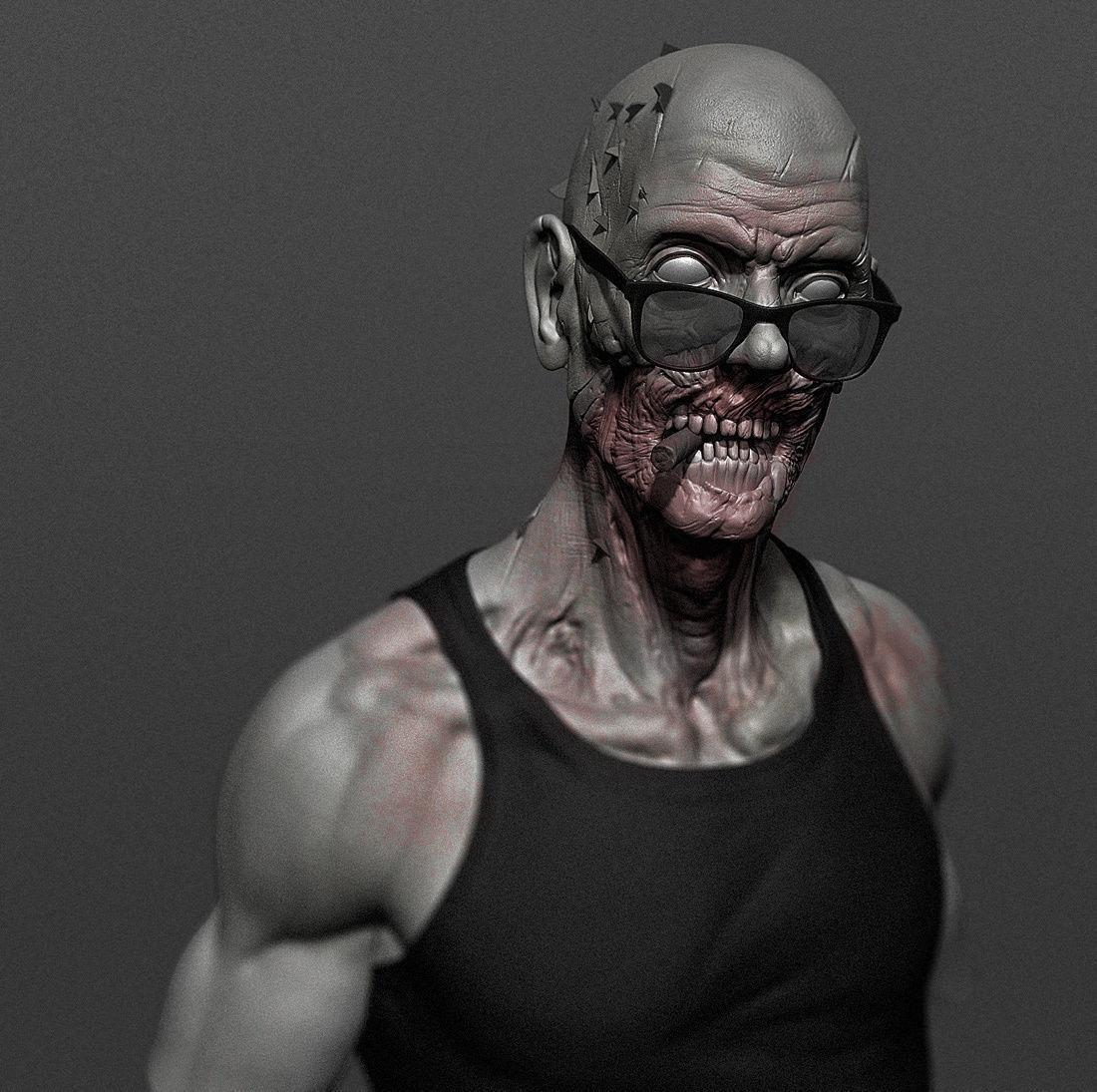 Cool Zombie