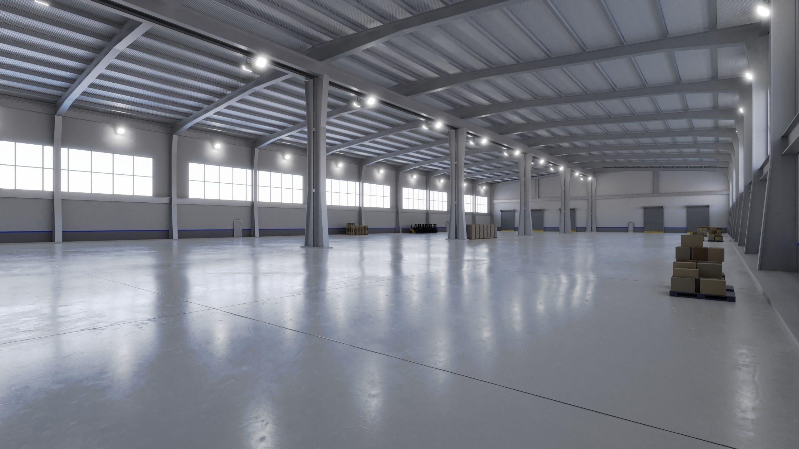 Industrial Warehouse Interior 9