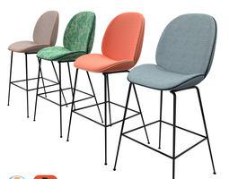 Gubi Beetle Stool stool 3D