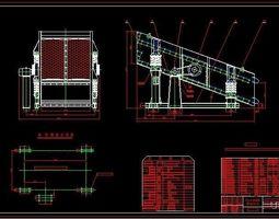 24006000 Double Layer Vibrating Screening 3D model