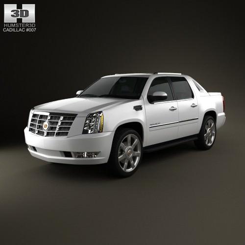 Cadillac Escalade EXT 2011 3D