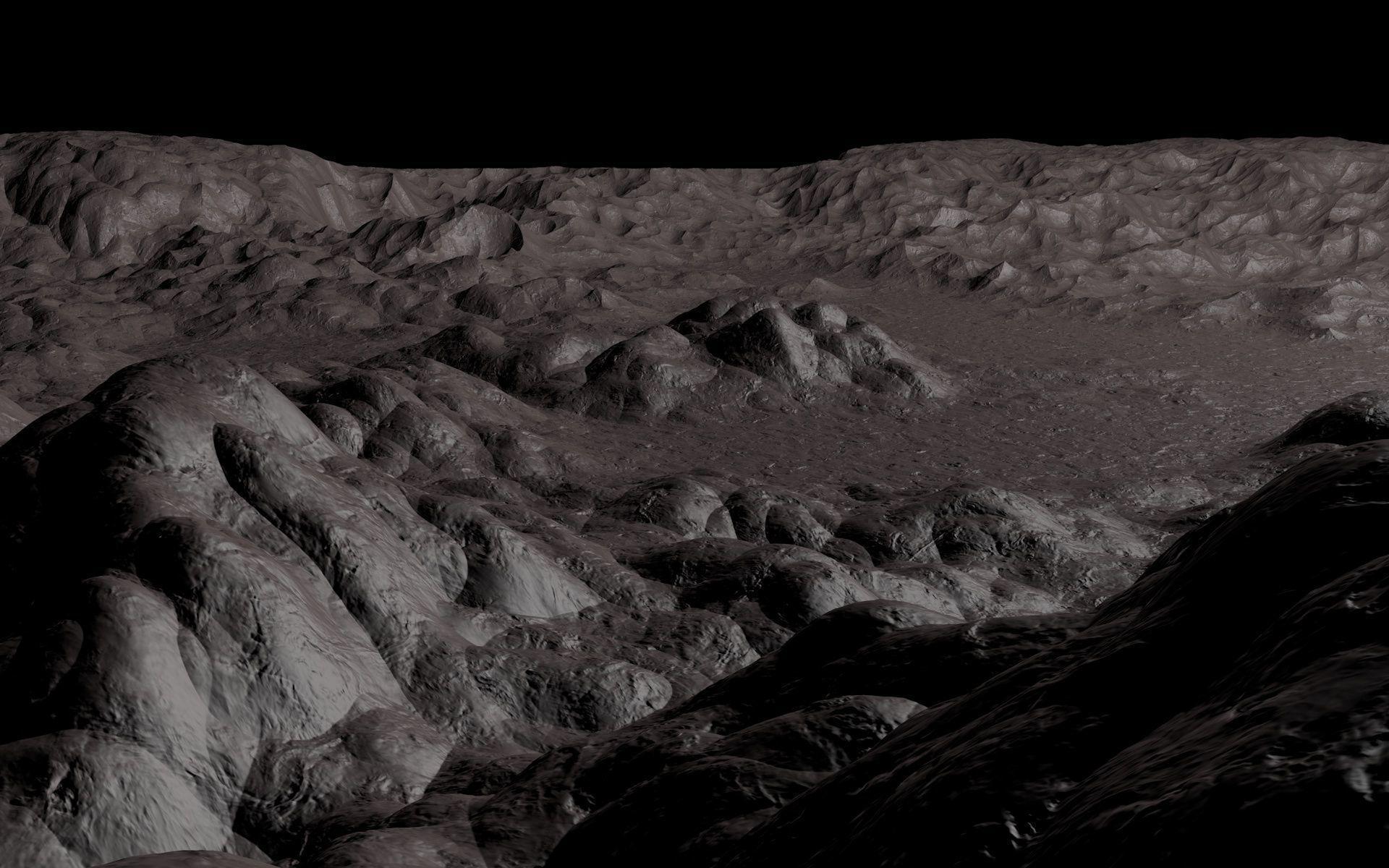 3d Model Alien Planet Landscape Cgtrader