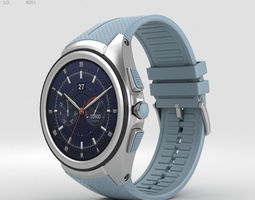 LG Watch Urbane 2nd Edition Opal Blue 3D