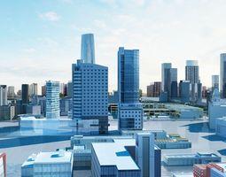 Shanghai Detailed City 3D model