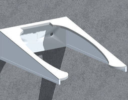3D printable model Wall bracket -