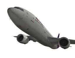 Boeing 777-200ER Thai Airways International 3D Model