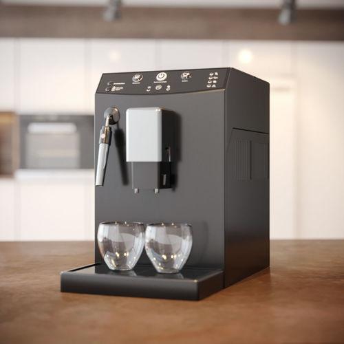 coffee machine philips 3d model max obj mtl fbx blend 1
