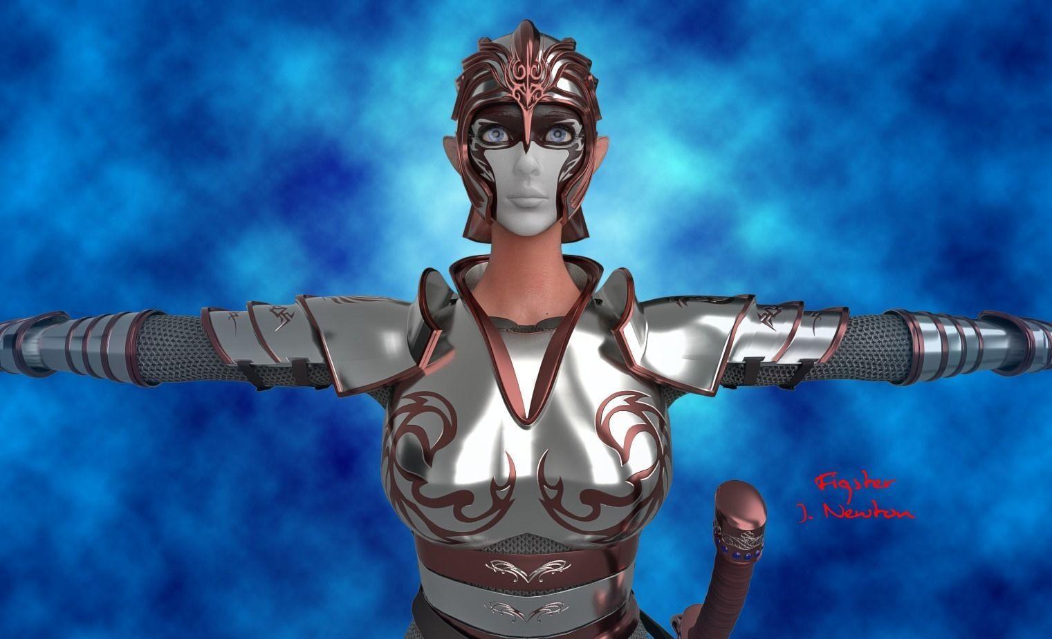 Female Elf Warrior