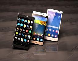 3D print model 3 phones Android full