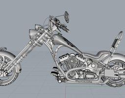 aircraft 3D model Chopper