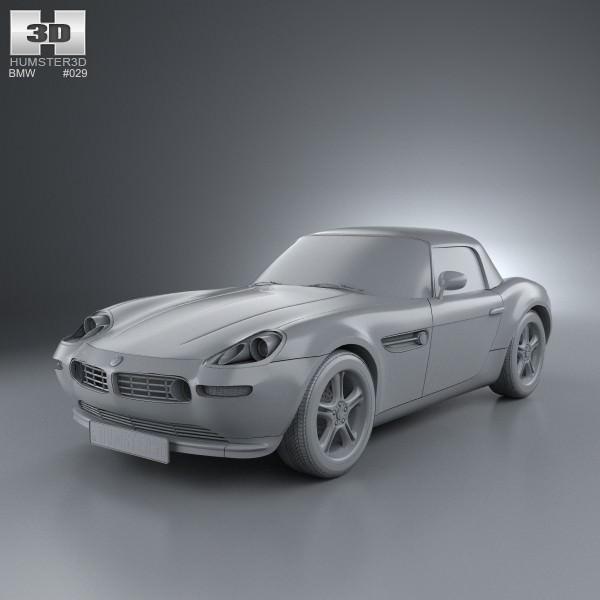 Bmw Z8 Model Car: BMW Z8 E52 3D Model .max .obj .3ds .fbx .c4d .lwo .lw .lws
